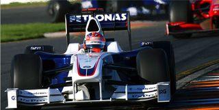 BMW Sauber F1 Kubica