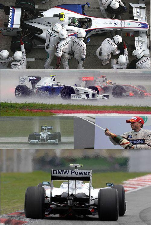 BMW Sauber F1 Malaysian Grand Prix